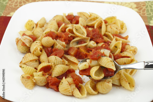 Pasta with Tomatoes and Garlic