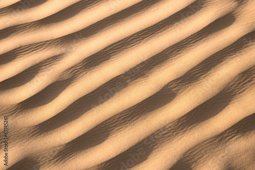 Sable du Sahara, Tunisie