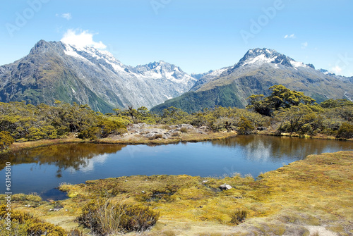 magnificent fabulous scenery in New Zealand