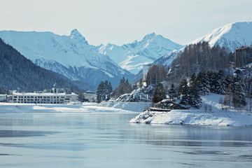Davoser See - Schweiz