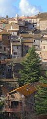 Landscape of Sutri. Lazio. Italy