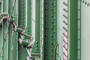 Old Sava's Bridge Night Illumination System With Steel Riveted S