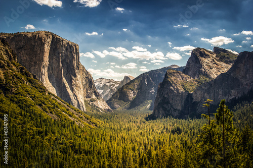 Yosemite National Park, Half Dome from Tunnel View - 63147895