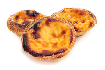 pasteis de nata, typical Portuguese egg tart pastries