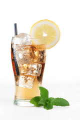 Ice tea - Stock Image