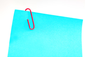 Notepads with paperclip