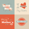 Retro Happy Mothers day