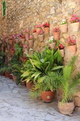 Mediterranean village of Valldemossa. Mallorca island, Spain