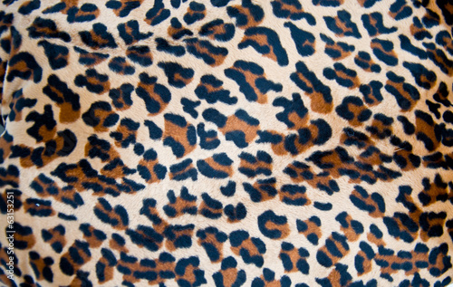 Fabric tiger skin background