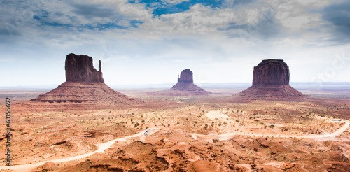 Fotobehang Canyon Monument Valley, Indian Reservation, USA