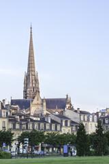 Morning time Saint Michel, Bordeaux France
