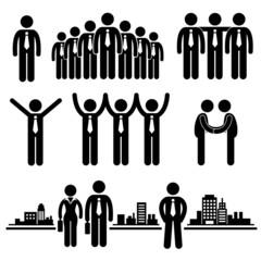 Business Businessman Group Workforce Worker Human Resources