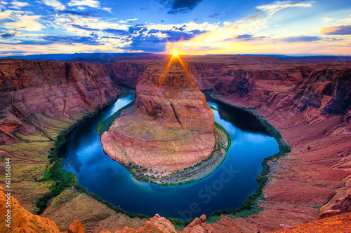 Fotobehang Canyon The Horseshoe Bend, USA