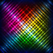 Rainbow neon grid vector background
