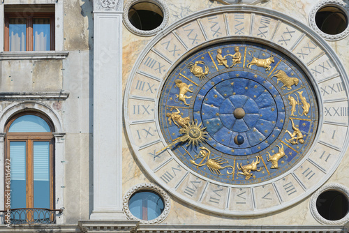 Venice, Italy: Astronomical clock