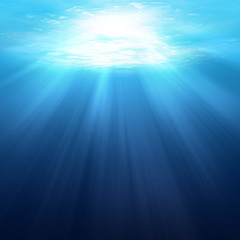 Underwater scene background