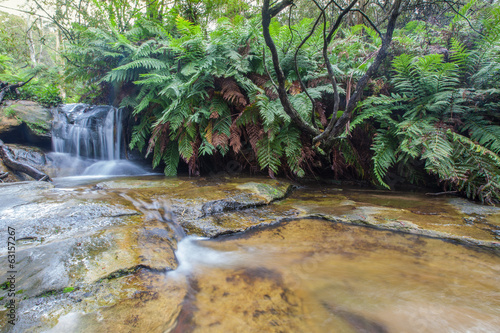 Leura falls upper section, Blue Mountains, Australia