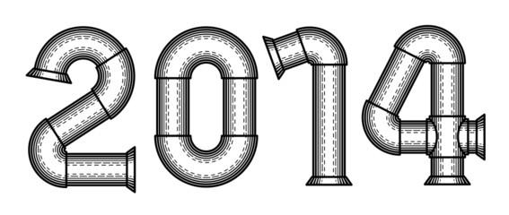 Steampunk font 2014