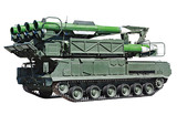 pre-loading installing anti-aircraft missile system