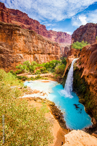 Havasu Falls, Havasupai, Grand Canyon