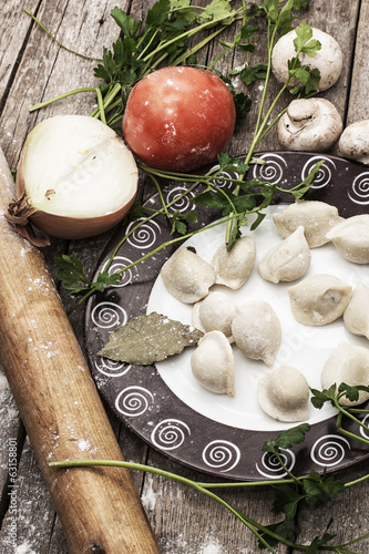 traditional Ukrainian dish-Ukrainian dumplings