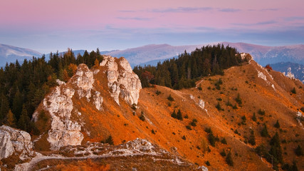 Autumn mountains, Slovakia.