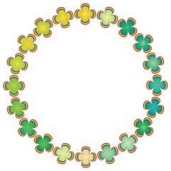 虹の四葉サークル(植物)