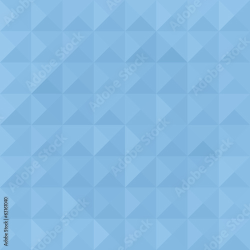 Blue triangle pattern2