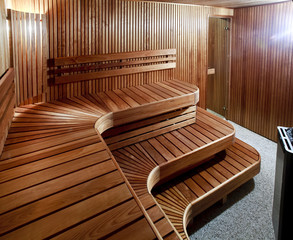 Luxury domestic sauna