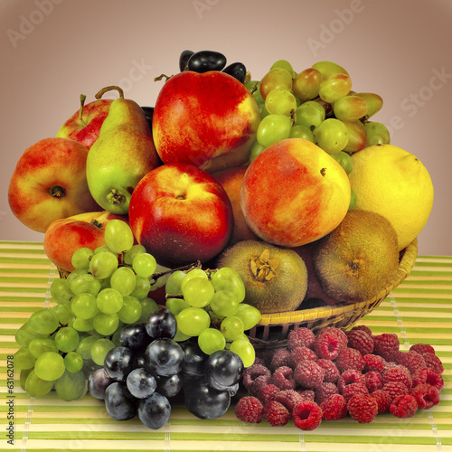 image of different fruits in a bowl