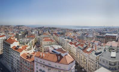 Lisbon's city panorama