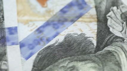Fragments of dollars