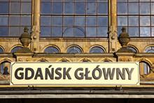 Détails de la construction de la station de chemin de fer à Gdansk, en Pologne