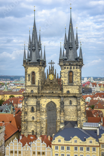 Tyn Church in Prague