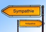 Strassenschild 5 - Sympathie poster