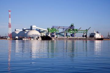 Fertilizer port