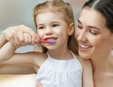 Fototapety teeth brushing