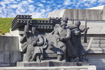 Monument of Soviet liberators