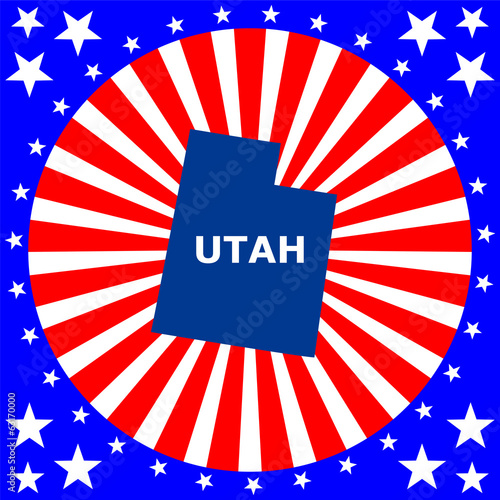map of the U.S. state of Utah