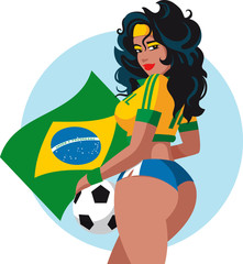 brazilian soccer fan