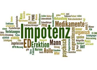 Impotenz (erektile Dysfunktion, ED)