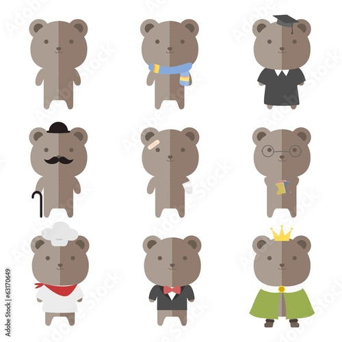 Male Teddy Bear Costumes