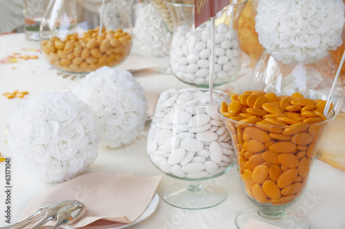 sugared almonds