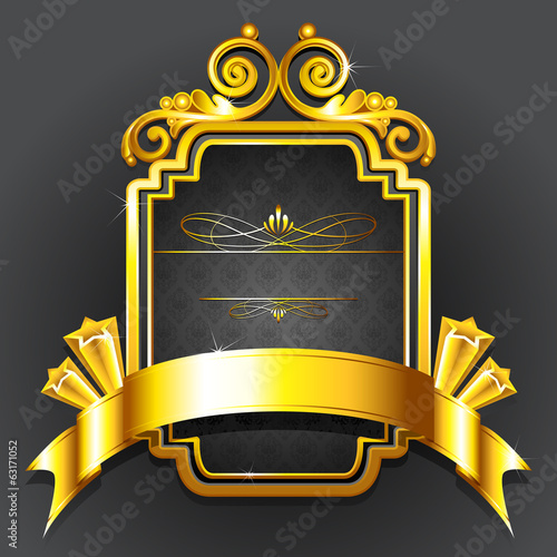 Golden Royal Badge