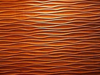 Wooden wavy patterns