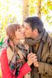 couple romantic outdoor