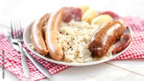 choucroute garnie (serviette vichy) 2 - 63173600