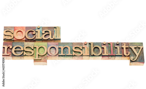 social responsibility in wood type