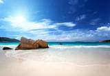 Fototapety Anse Lazio beach Praslin island, Seychelles