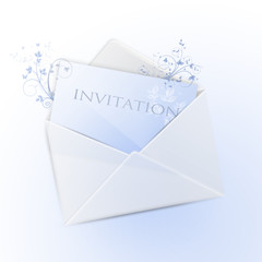 Envelope with invitation (english version)
